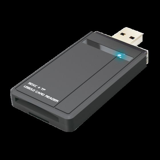 USB3.0 to SD/Micro SD Card Reader