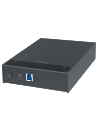 """USB3.0 to 2.5""""/3.5"""" SATAIII HDD/SSD Docking Station, Support UASP, w/12V2A Power Adapter, Lay-Flat and Dust-Protection Design"""
