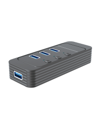 USB3.0 4-Port Hub with On / Off Switch