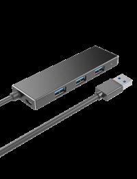 Ultra Slim USB3.0 4-Port Hub, w/Micro B Power Port