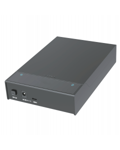 """USB3.1 Gen 2 Type C TO 2.5""""/3.5"""" SATAIII HDD/SSD Docking Station, Support UASP, w/12V2A Power Adapter, Lay-Flat and Dust-Protection Design"""