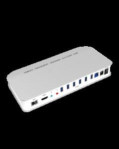 USB3.0 Type-C Universal Docking Station Pro (6*USB3.0 + 1*HD-Video + Audio/Mic + 1*Gigabit Ethernet), w/5V4A Power Adapter