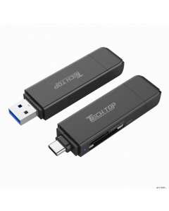 USB3.0 Type A / Type C to SD / Micro SD Card Reader